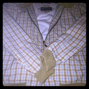 Hickey Freeman Casusl Plaid Jacket